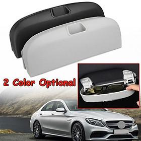 Car Sunglasses Case Holder Glasses Cage Storage Box for Mercedes W205 W203 W204 Black