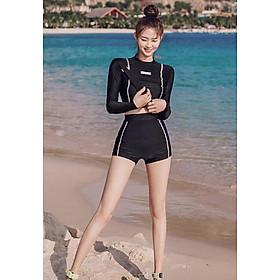 Đồ bơi nữ dài tay thời trang