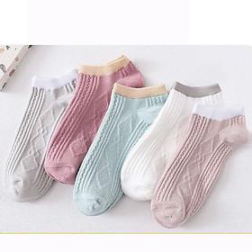 Bộ 5 đôi tất nữ ngắn cổ - Hàng cao cấp Vinbuy
