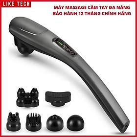 Máy Massage Cầm Tay Đa Năng Cao Cấp LIKETECH |Mát Xa Chuyên Sâu Cho Cổ, Vai Gáy, Bụng, Lưng, Cánh Tay, Chân Làm Quà Tặng