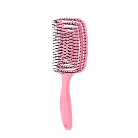 Lược nhựa thông hơi giúp làm khô và tạo kiểu tóc, massage da đầu