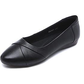 Giày bệt búp bê nữ xếp li xinh xắn hàng VNXK siêu bền-M17