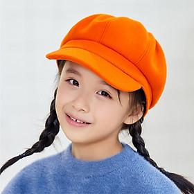 Mũ nón nồi, beret cho bé gái phong cách HÀN QUỐC - màu trơn