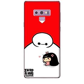 Ốp lưng dành cho điện thoại  SAMSUNG GALAXY NOTE 9 Big Hero Baby