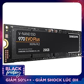 Ổ Cứ́ng SSD Samsung 970 EVO PLUS 250GB NVMe M.2 2280 PCIe NVMe MZ-V7S250BW - Hàng Chính Hãng