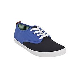 Giày Vải Nam MIDO'S 79-MD10-BLACK - Đen Xanh Dương