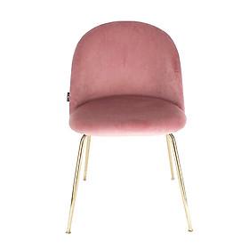 Ghế trang điểm bọc vải chân sắt sơn hiện đại Velvet