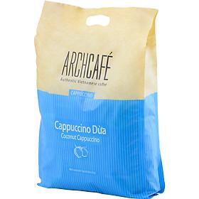 Cà phê Cappuccino Dừa - Cafe hoà tan Archcafé (dạng túi)