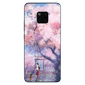 Hình ảnh Ốp điện thoại dành cho máy Huawei MATE 20 - 2 mẹ con MS ACIKI004