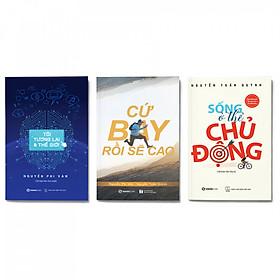 Combo 3 cuốn: Sống ở thể chủ động + Cứ bay rồi sẽ cao + Tôi, tương lai và thế giới