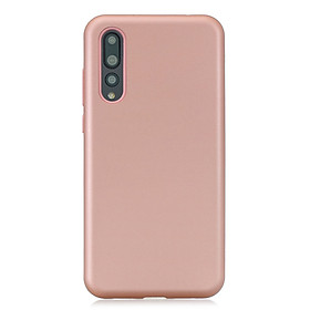 For Huawei P20 3 in 1 Fashion Candy Color PC+ Silicone Dustproof Anti-fall Protective Back Case