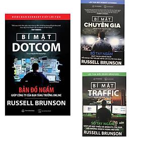 Combo Bí mật Dotcom ( tái bản 2021 ) + Bí mật Traffic + Bí mật chuyên gia