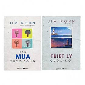 Combo Bộ Sách Jim Rohn: Bốn Mùa Cuộc Sống - Châm Ngôn Cuộc Sống (Tái Bản) + Bộ Sách Jim Rohn - Triết Lý Cuộc Đời (Tái Bản)