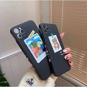Case Ốp Lưng Gia Đình Mèo Đi Picnic Dành Cho Iphone 11, iPhone 11 Pro Max, iPhone 12, iPhone 12 Pro, iPhone 12 Pro Max