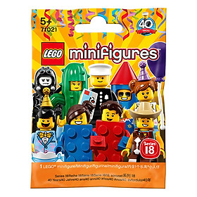 Bộ Lắp Ráp Nhân Vật Số 18 LEGO MINIFIGURES 71021 (7 chi tiết)
