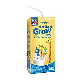 Thùng Sữa Bột Pha Sẵn NUTI NUVITA GROW DIAMOND 180ml - Dành cho trẻ từ 1 tuổi trở lên (48 Hộp x 180ml)