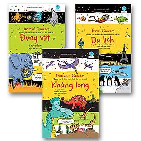 Bộ 3 cuốn sách Những câu đố khoa học dành cho học sinh - General Knowledge Quizzes