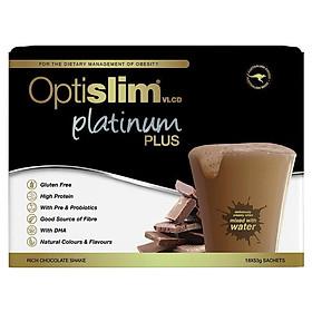 Optislim VLCD Platinum PLUS Chocolate 18x53g