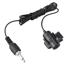 Takstar TCM-370 Mini Portable Clip-on Lapel Lavalier Hands-free 3.5mm External Screw Lock Jack Microphone Mic for