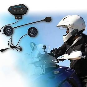 Helmet Headset Wireless Headphones Compatible with Motorcycle Scooter Helmets Talking Hands-Free