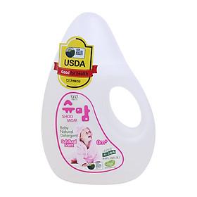 Nước giặt Tự Nhiên Hương Hoa Dịu Nhẹ Cho Trẻ SHOOMOM 1,3L