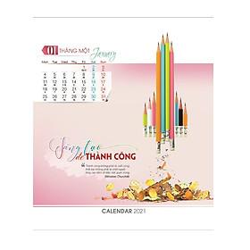 Combo 5 cuốn lịch bàn 2021 AH ngẫu nhiên (mẫu ngẫu nhiên)