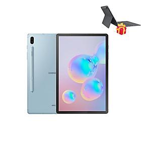 Máy tính bảng Samsung Galaxy Tab S6 10.5 ( 128GB/6GB) Tặng kèm Bao da kiêm bàn phím - Hàng Chính Hãng - Đã Kích Hoạt Bảo Hành Điện Tử