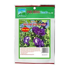 Hạt giống Hoa Đậu Biếc PN220 - Cánh hoa Kép , Siêng Hoa, Dễ Chăm sóc, nãy mầm Tốt.