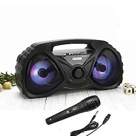 Loa bluetooth karaoke xách Tay Di động 526DW Bass trầm ấm - Kèm Mic
