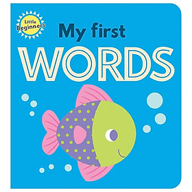 Little Beginners Mini Padded Board Book - My First Words