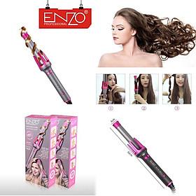 Máy uốn xoăn tóc cao cấp - Uốn xoăn tự động thương hiệu ENZO Italia - Chuyên nghiệp dành cho Salon