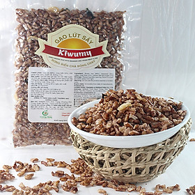 Combo 5 Gói Gạo Lứt Sấy Rong Biển và Chà Bông Chay Kiwumy (5 gói x 50g/ gói)