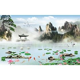 Tranh Dán Tường 3D Cao Cấp TGTV-5074