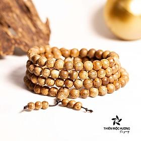 Vòng tay Trầm hương 108 hạt- Thiên Mộc Hương ( Size 6mm )