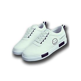 Hình đại diện sản phẩm Giày Thể Thao Nữ Sneaker Giày Nữ Mặt Cười Thời Trang