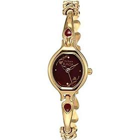 Titan Women's 2387YM07 Raga Inspired Gold Tone Watch