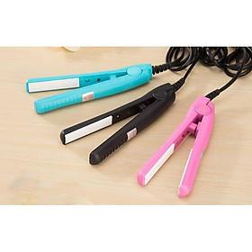 Máy uốn duỗi tóc mini 2in1 (giao màu ngẫu nhiên) , máy ép tóc nhỏ gọn