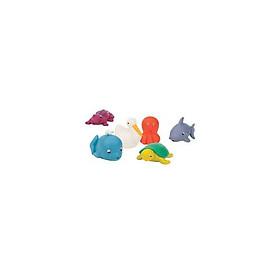 Bộ đồ chơi nhà tắm - sinh vật biển BATTAT SKU BT2605Z