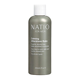 Natio for Men Calming Aftershave Balm 200ml