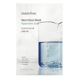 Mặt Nạ Hyaluronic Acid Innisfree Skin Clinic - Mặt Nạ Hyaluronic Acid 20ml (1 Miếng)-131171762