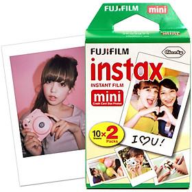 Giấy In Ảnh Cho Máy Ảnh Fujifilm Instax Mini (20 Tấm)