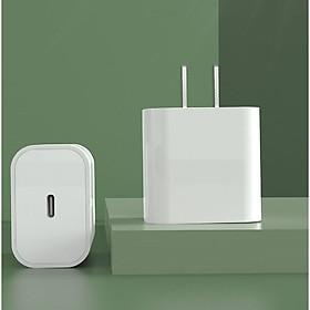 Củ sạc nhanh 18W SENDEM C15 cổng USB Type C hỗ trợ PD Super Chager cho điện thoại iPhone 11, iPhone 11 Pro, iPhone 11 Pro Max, iPad, Macbook - Hàng chính hãng