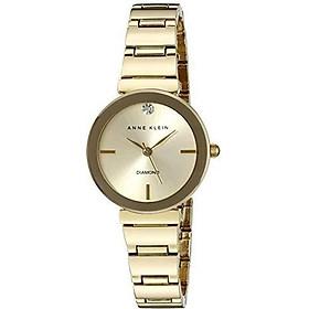 Đồng hồ nữ Anne Klein Women's Diamond-Accented Bracelet Watch - Gold