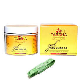 Gel tan mỡ giúp săn chắc da TaBaHa 250g chiết xuất từ thiên nhiên tặng thước dây