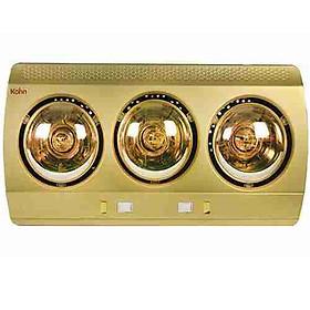 Đèn Sưởi Nhà Tắm 3 bóng Kohn KN03G 825W - Hàng Chính Hãng