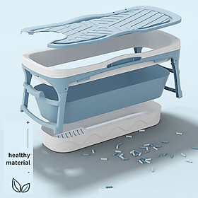 Bồn tắm gấp gọn cho cả gia đình- Bồn tắm silicon cao cấp -tiết kiệm không gian -hàng chính hãng