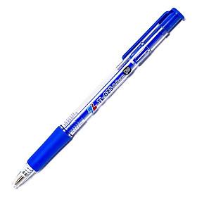 Bộ 4 Bút Bi Thiên Long TL-025 Grip - Màu Xanh - Mực Xanh