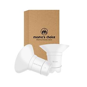 Trợ Phễu Silicone Mama's Choice NewFit Size 17-19-21mm | Giảm Size Phễu, Cup Hút Sữa | Hút Sữa Kích Sữa Hiệu Quả và Êm Ái Hơn | Chất Liệu Silicone Cao Cấp Kiểm Định Quốc Tế bởi Bureau Veritas