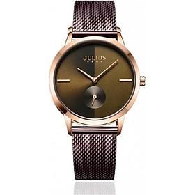 Đồng hồ nữ Julius JA-1110 dây thép (nhiều màu)