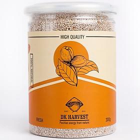 Hạt Chia Trắng DK Harvest (Nhập Khẩu Úc) - 300g, 500g - giàu acid béo omega-3, chất xơ, protein và chất chống oxy hoá